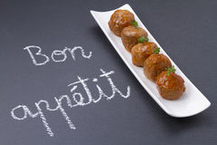 Bon appetit Royalty Free Stock Photos