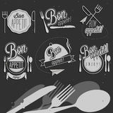 Bon Appetit! Enjoy your meal! Royalty Free Stock Photo