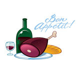 Bon Appetit Stock Photography