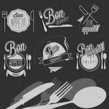 Bon Appetit! Geniet van uw maaltijd! Royalty-vrije Stock Foto
