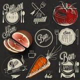 Bon Appetit! Geniet van uw maaltijd! Royalty-vrije Stock Afbeelding