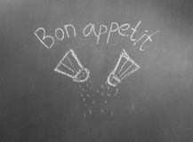 Bon appetit Royalty Free Stock Images