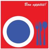 Bon app�tit! Royalty Free Stock Photo