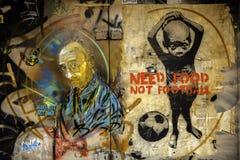 Bon art de rue à Rome Image stock