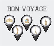 Bon boyage Royalty Free Stock Images
