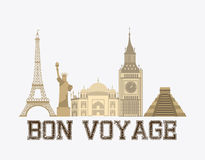 Bon boyage Stock Photos