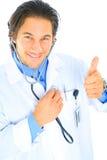 bon coeur heureux de docteur Images libres de droits