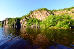 Bon Echo Park in Canada. Tranquil scenery of Bon Echo Park in Canada Stock Image