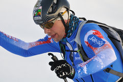 Bon francés Mardion de Guillermo del esquiador Imagen de archivo
