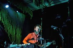 Bon Iver band performs at Barcelona Royalty Free Stock Photo