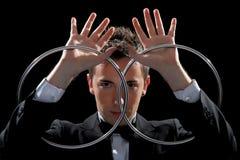 Bon jeune magicien Photos libres de droits