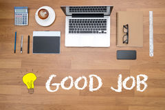 Bon Job Perfect Success photo stock