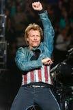 Bon Jovi żywy w koncercie Zdjęcie Royalty Free
