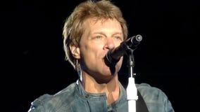 Bon Jovi επειδή μπορούμε Στοκ εικόνες με δικαίωμα ελεύθερης χρήσης