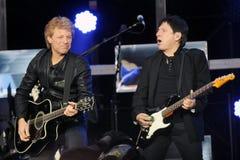 Bon Jovi royaltyfria foton