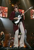Bon Jovi esegue di concerto fotografie stock libere da diritti