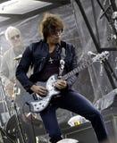 Bon Jovi leeft de Reis van 2011 royalty-vrije stock foto
