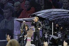 Bon Jovi leeft de Reis van 2011 stock afbeelding