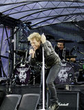 Bon Jovi Live 2011 Tour stock photos