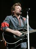Bon Jovi presteert in overleg royalty-vrije stock afbeeldingen