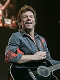 Bon Jovi se realiza en concierto imagen de archivo libre de regalías