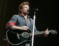 Bon Jovi se realiza en concierto foto de archivo libre de regalías