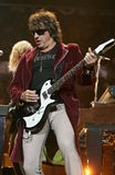 Bon Jovi se realiza en concierto fotografía de archivo libre de regalías