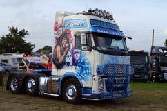 Bon Jovi Truck 2nd. Bon Jovi painted Truck at a Show Stock Photo