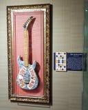 Bon Jovi und magische Gitarre lizenzfreies stockfoto