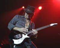 Bon Jovi utför i konsert royaltyfria foton