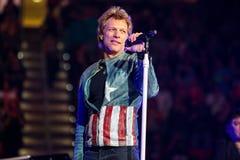 Bon Jovi vive di concerto Immagini Stock