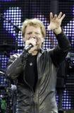 Bon Jovi vive el viaje 2011 Imágenes de archivo libres de regalías