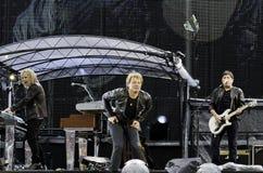 Bon Jovi vive el viaje 2011 Imagen de archivo