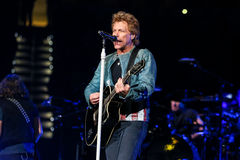 Bon Jovi vivent de concert Photo stock