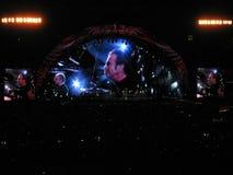 Bon Jovi World Tour 2010 Lizenzfreies Stockbild