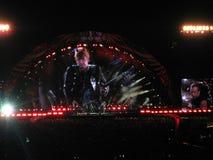 Bon Jovi World Tour 2010 Lizenzfreie Stockfotos