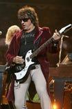 Bon Jovi wykonuje w koncercie fotografia royalty free