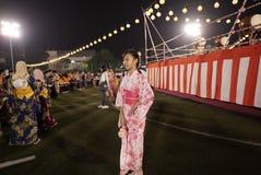 Bon Odori Dance Performance stock foto