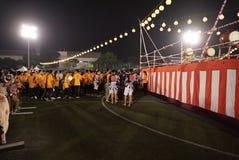 Bon Odori Dance Performance royalty-vrije stock foto