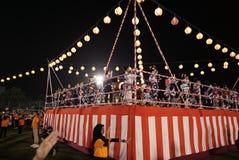 Bon Odori Dance Performance royalty-vrije stock foto's