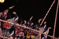 Bon Odori Dance Performance royaltyfri bild