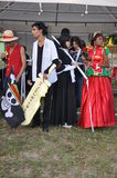 The Bon Odori festival Animes Royalty Free Stock Photography