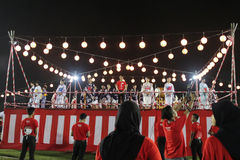 Bon odori festival in Malaysia Royalty Free Stock Photo