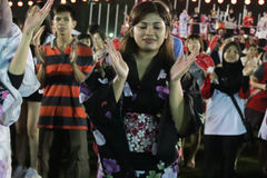 Bon odori festival in Malaysia Royalty Free Stock Photography
