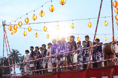 Bon-Odori Festival in Shah Alah,  on September 5, 2015. Royalty Free Stock Photo