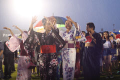 Bon-Odori Festival in Shah Alah,  on September 5, 2015. Royalty Free Stock Image