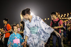 Bon-Odori Festival in Shah Alah,  on September 5, 2015. Stock Images