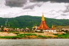 Bon paysage du fleuve Lancang Photo stock