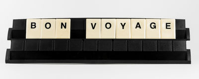 Bon Voyage Royalty-vrije Stock Afbeeldingen
