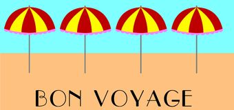 Bon voyage Royalty Free Stock Photo